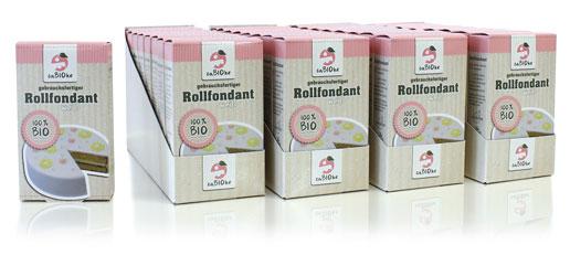 Cabioke BIO-Rollfondant Produktabbildungen